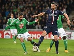 saint etienne vs psg